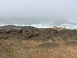 Lookout point between Lincoln City and Depoe Bay