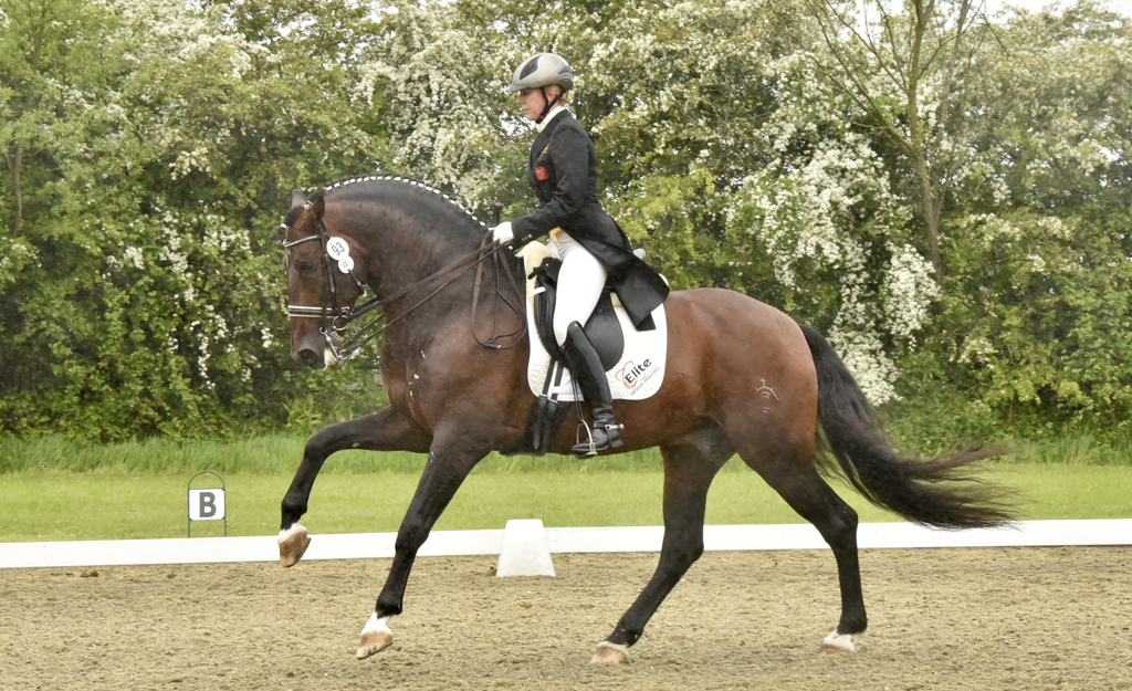 Vicki rides thoughtful test on GP student Jacaro