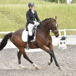 Kent dressage riders brave new challenges