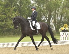 Emily rides Mars who is being produced as an international young riders prospect. The Danish-bred De Noir x Weltjunge 16.1hh De Noir x Weltjunge eight-year-old has just started competing at advanced medium