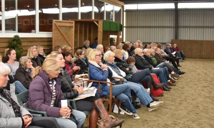 Team Hayler event attracts enthusiastic audience