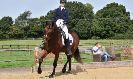 Dressage results: Step Aside (Belmoredean), West Sussex, 30 August