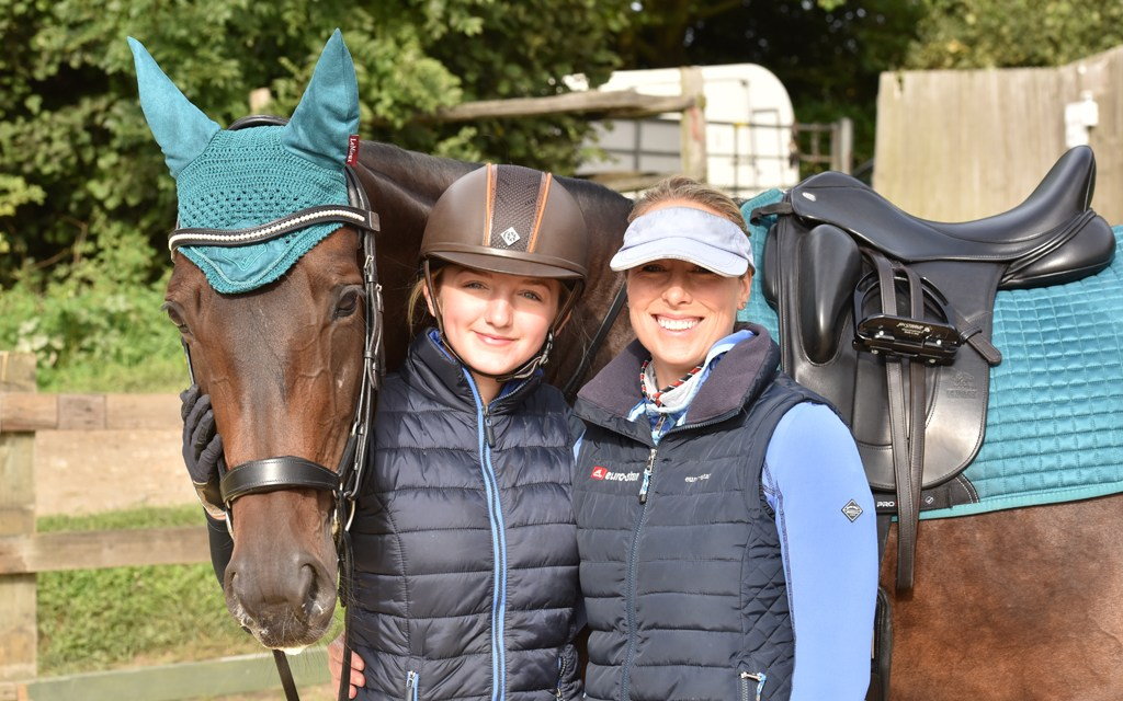International rider and Prize Trainer Hannah Biggs at Sparrow Oast