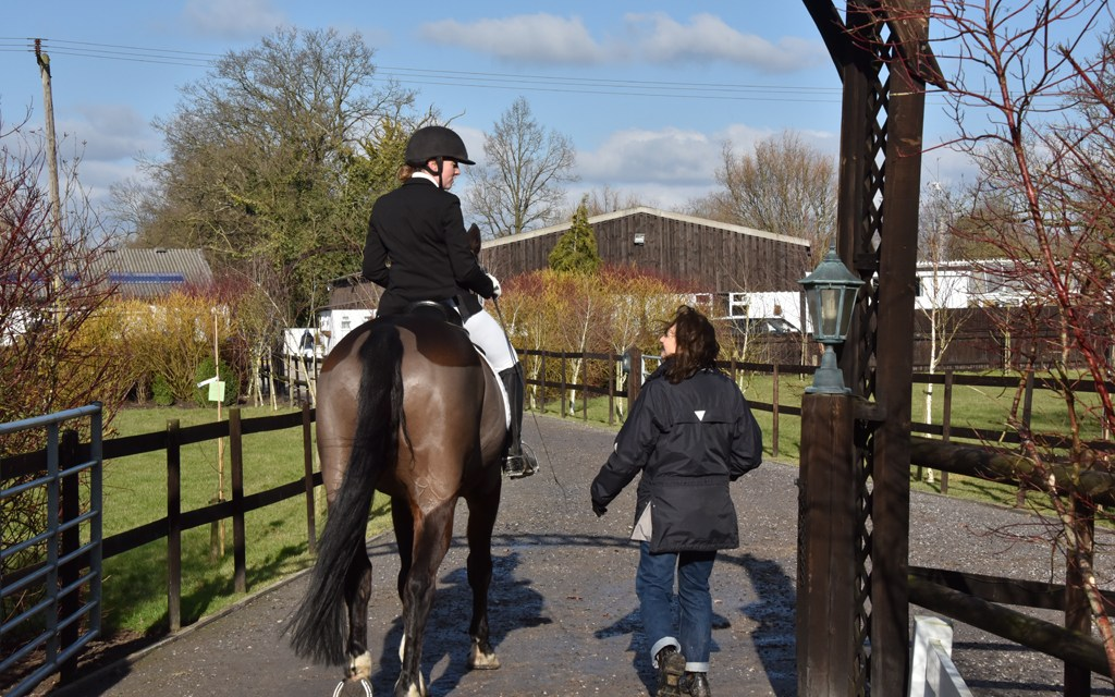 Dressage results: Oldencraig, Surrey, 4 January
