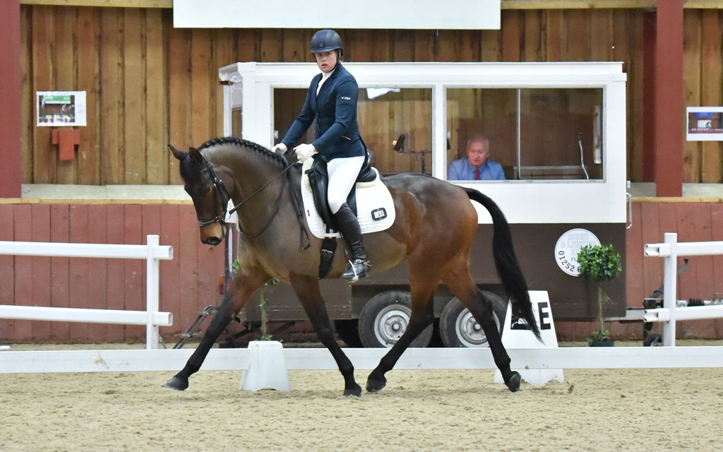 Dressage results: Cobham Manor, Kent, 16 & 18 March