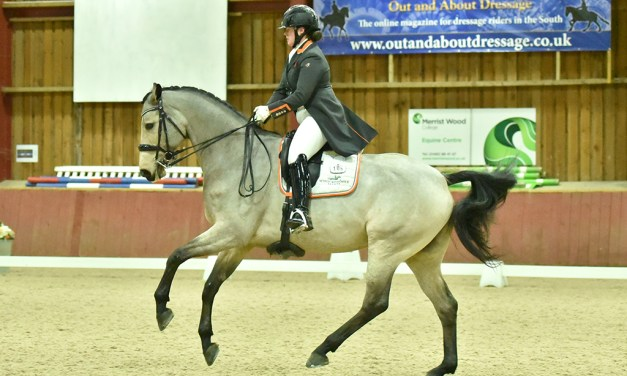 Dressage training 'outside the box'