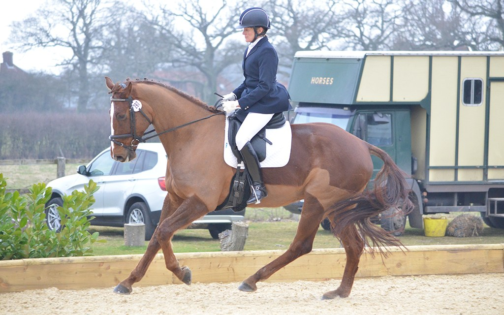Dressage trainer Char Lassetter and Excellance — the horse who made her