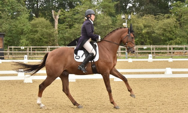Sam Holland and Double Check emerge at last as a winning advanced combination