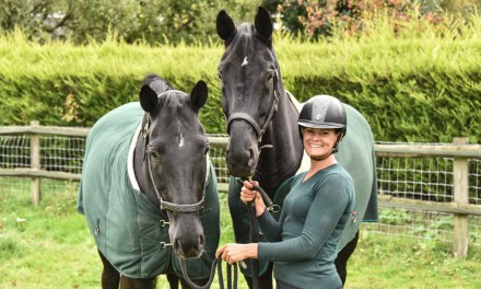 The Dr Jekyll and Mr Hyde making Molly Key a dressage rider