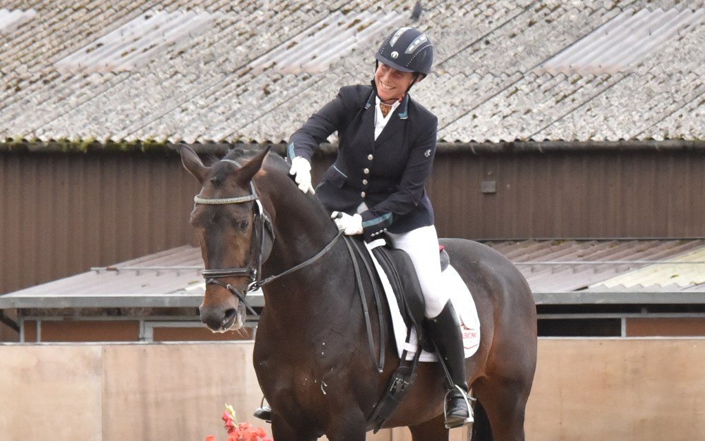 When would you retire from a dressage test at a competition?