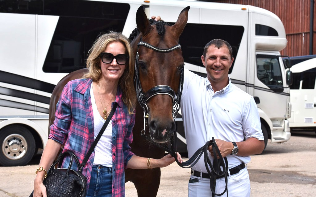 Possibly the hottest Merrist winter dressage championships ever! Part 1