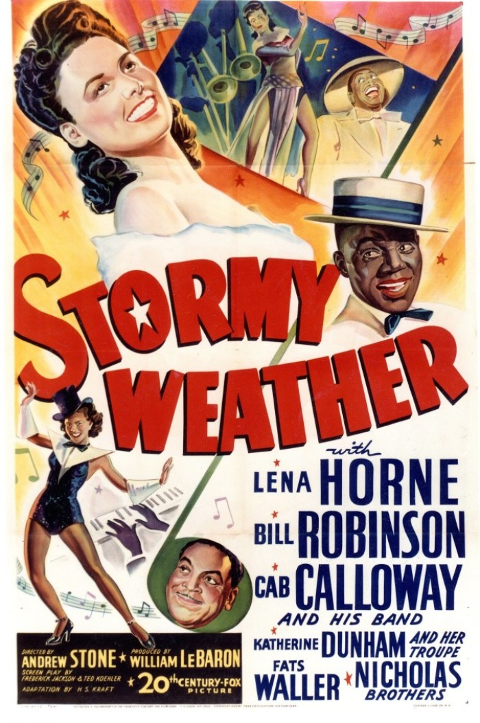 Stormy Weather poster with Lena Horne