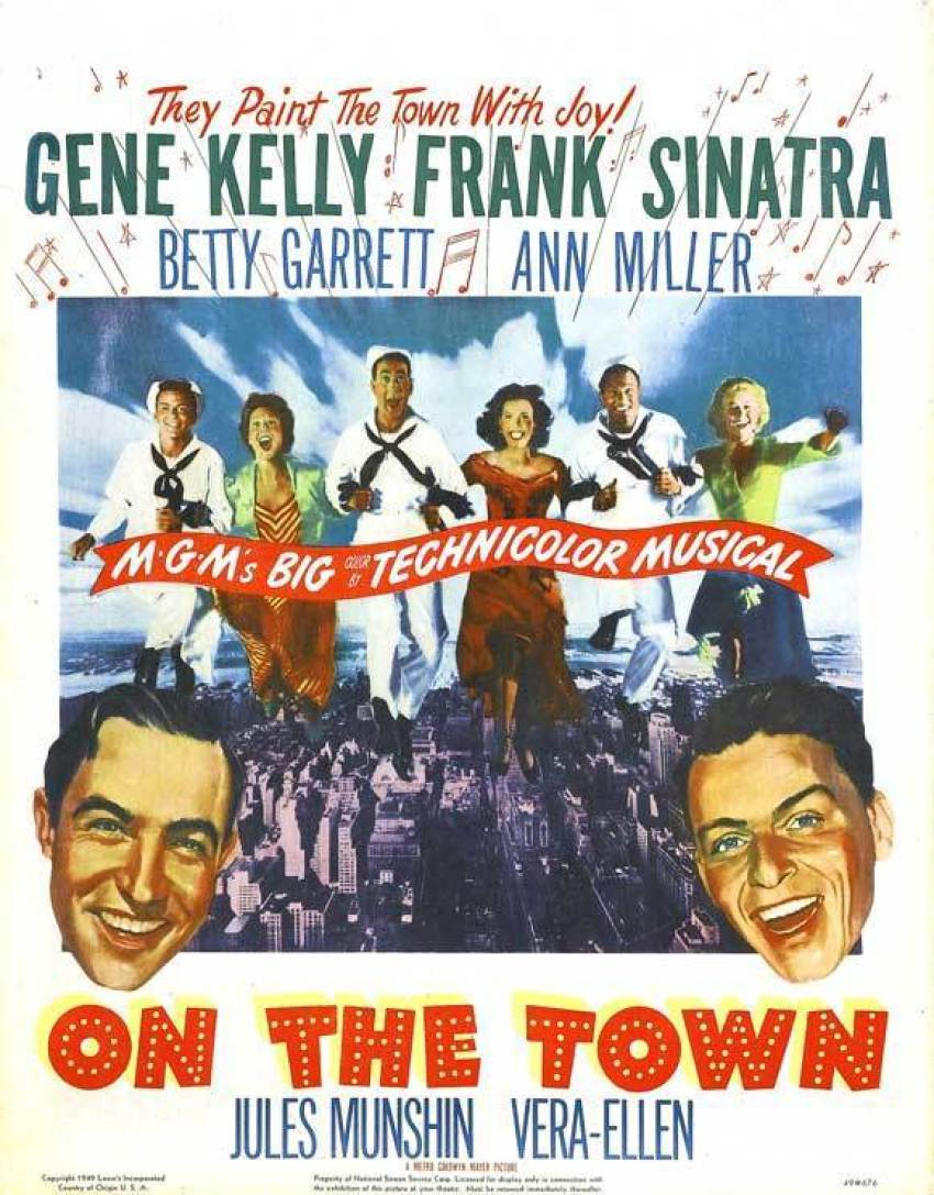 on-the-town-poster