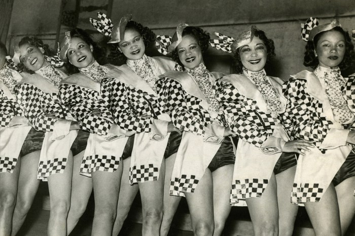 The Apollo Dancer sat the Cotton Club Revue in 1938.