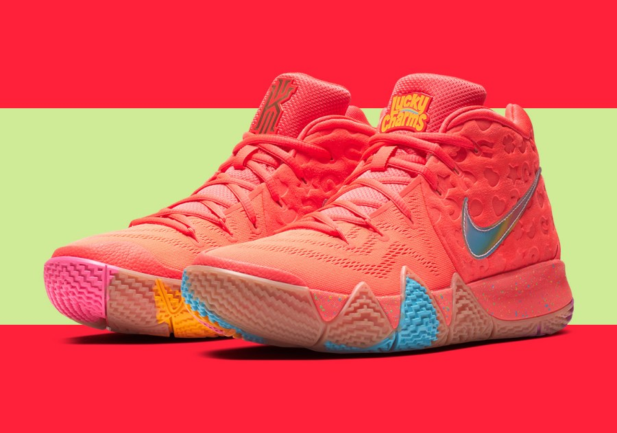 "the latest 21d01 caec8 8/3/18 O&A NYC WITH WaleStylez FASHION: Nike Kyrie 4 ""Cereal ..."