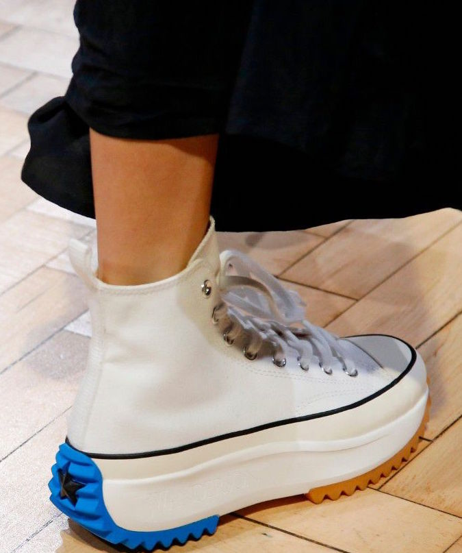 1 8 19 O A NYC WITH WaleStylez FASHION  JW Anderson x Converse SS19 Run  Star Hike in White – Out   About NYC Magazine b86903f6e
