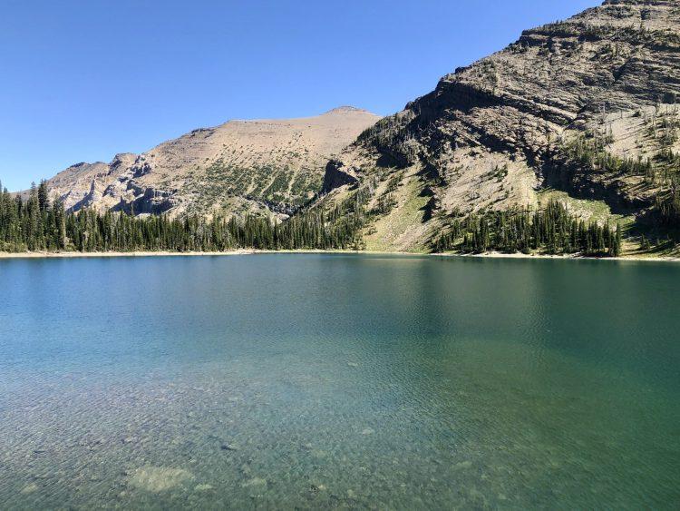 Beautiful Crypt Lake
