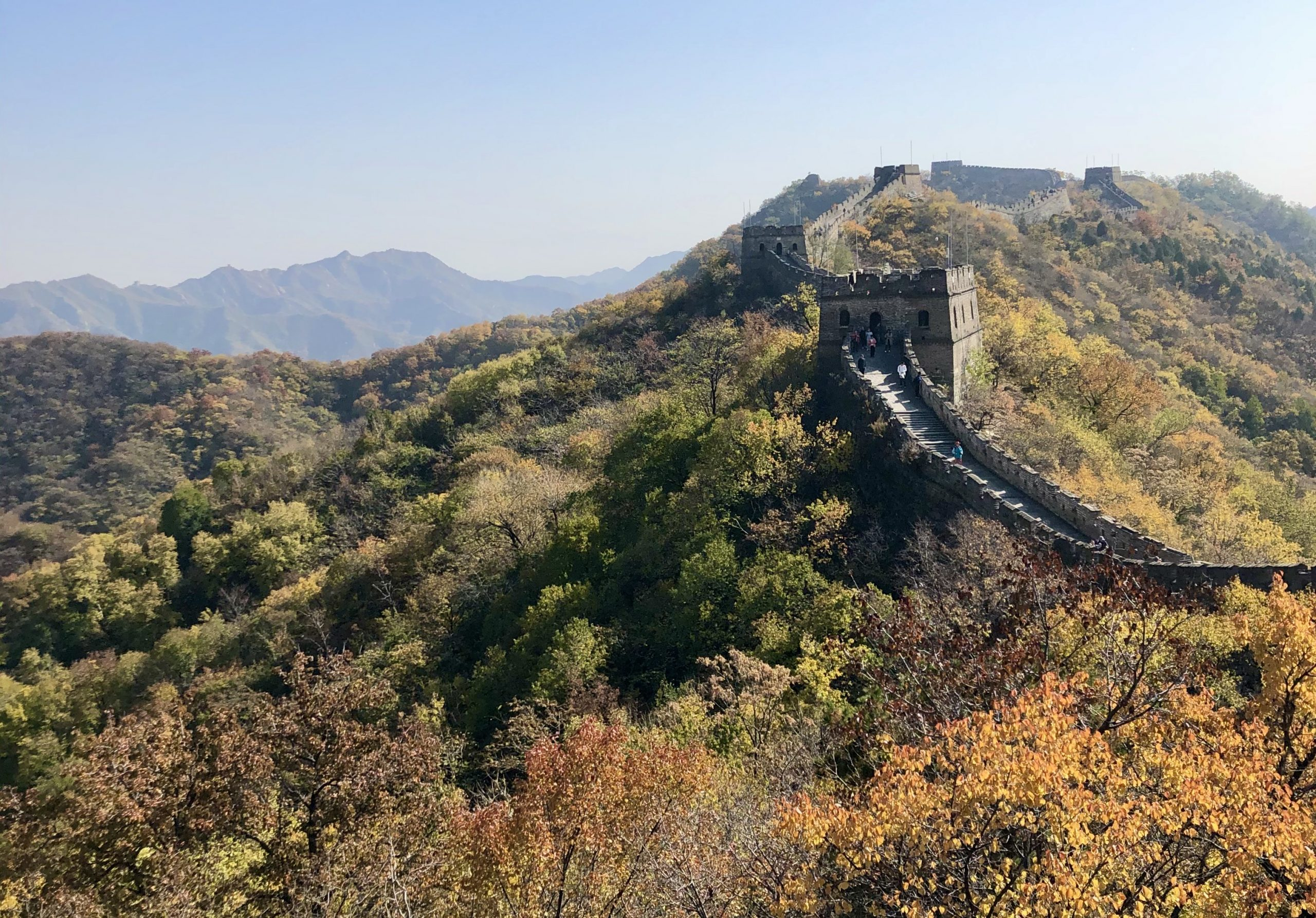 The Great Wall of China: Walking Along One of the World's Seven Wonders via @outandacross
