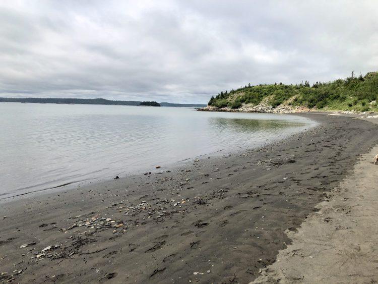 Black Beach near Saint John, NB