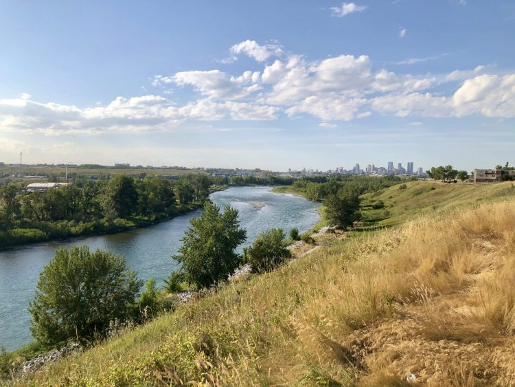 Bow River Bike Path Calgary