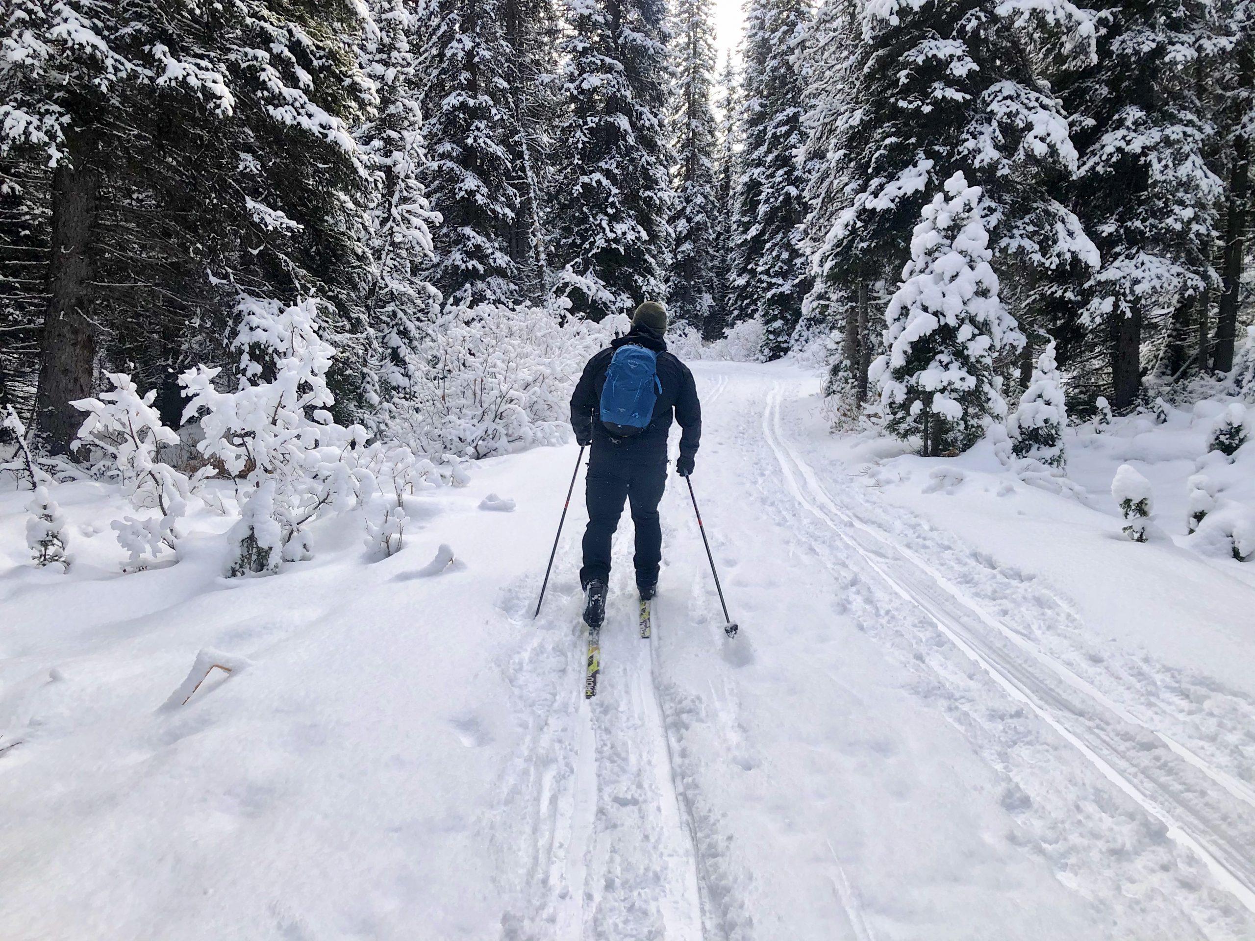 Ski via @outandacross