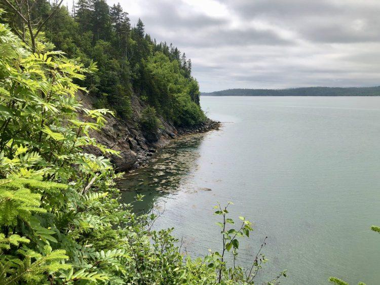 New Brunswick coastline
