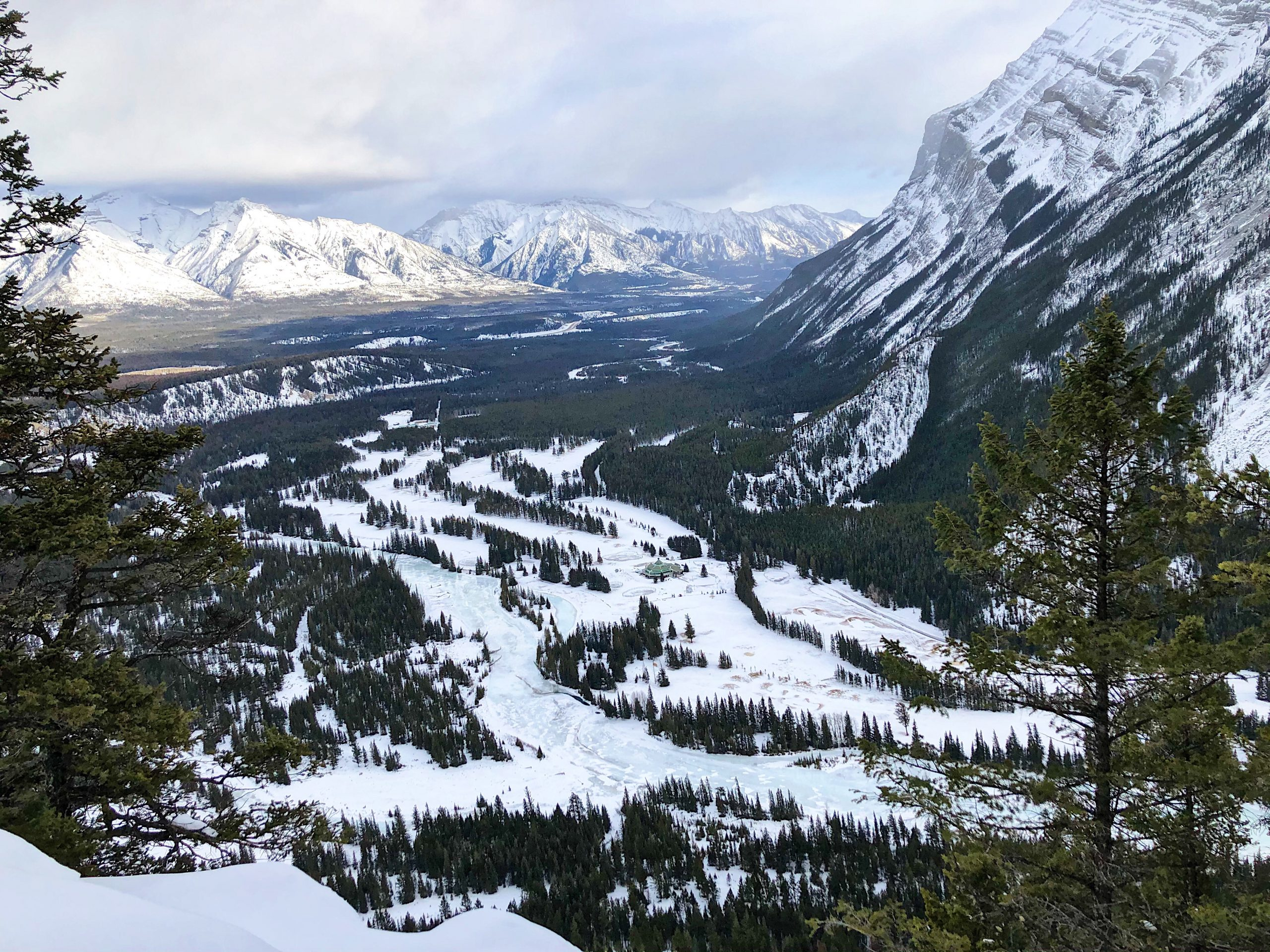 The Tunnel Mountain Summit in Banff is a Rewarding (and Short) Winter Hike via @outandacross