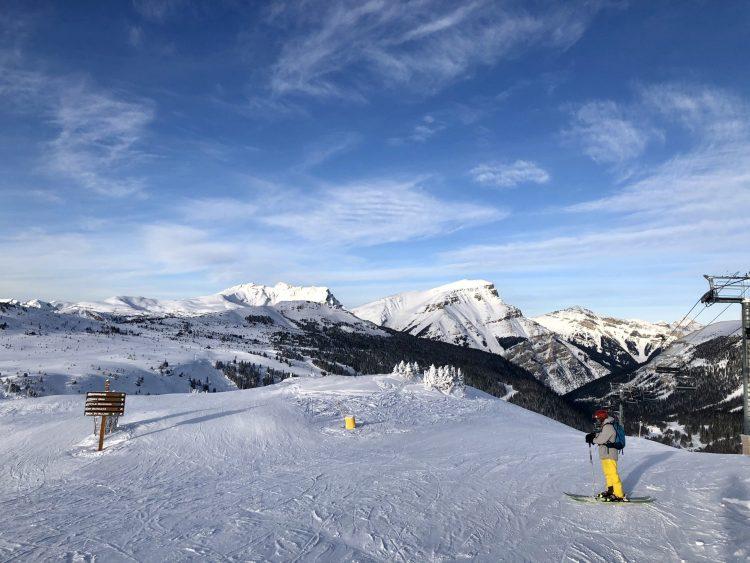 Banff ski trip