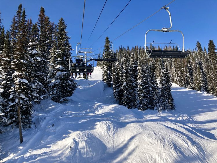 Banff Sunshine Village ski lift
