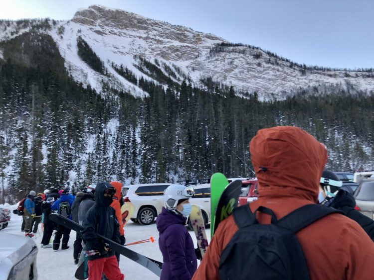 Banff ski trip to Sunshine Village