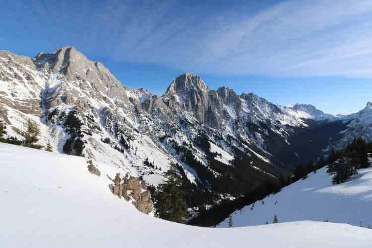 Rocky Mountains at King Creek Ridge