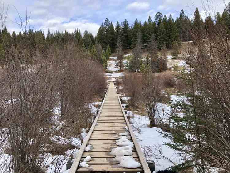 Boardwalk at Valley of the Five Lakes