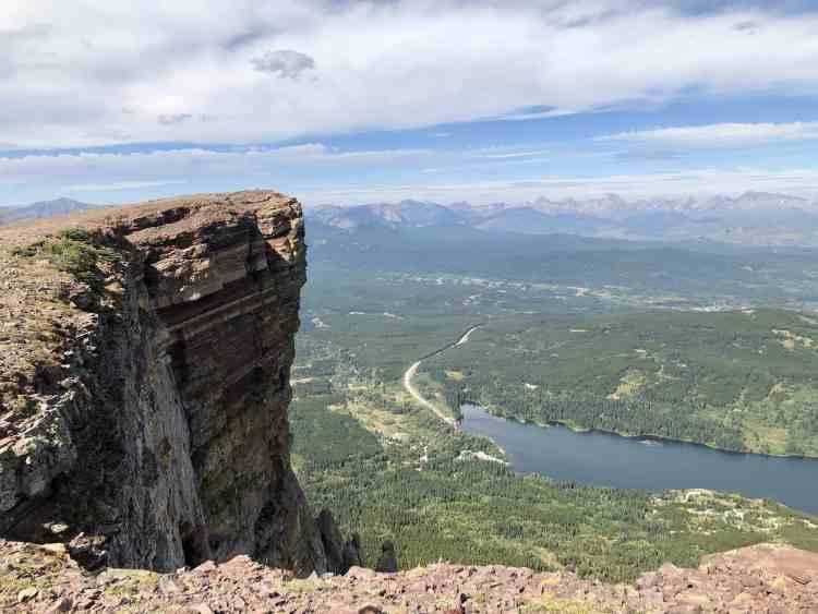 Table Mountain hike has incredible views in Alberta