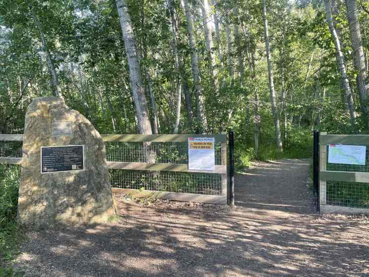 Douglas Fir Trail trailhead