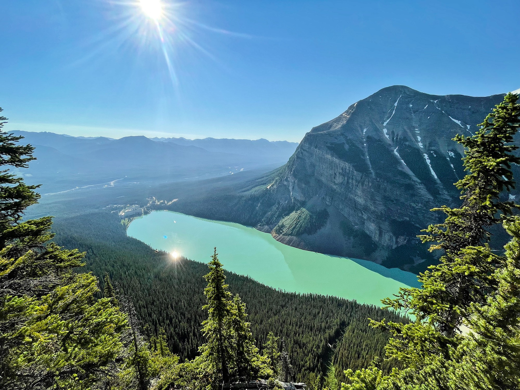 Big Beehive Hike at Lake Louise—What You Should Know via @outandacross