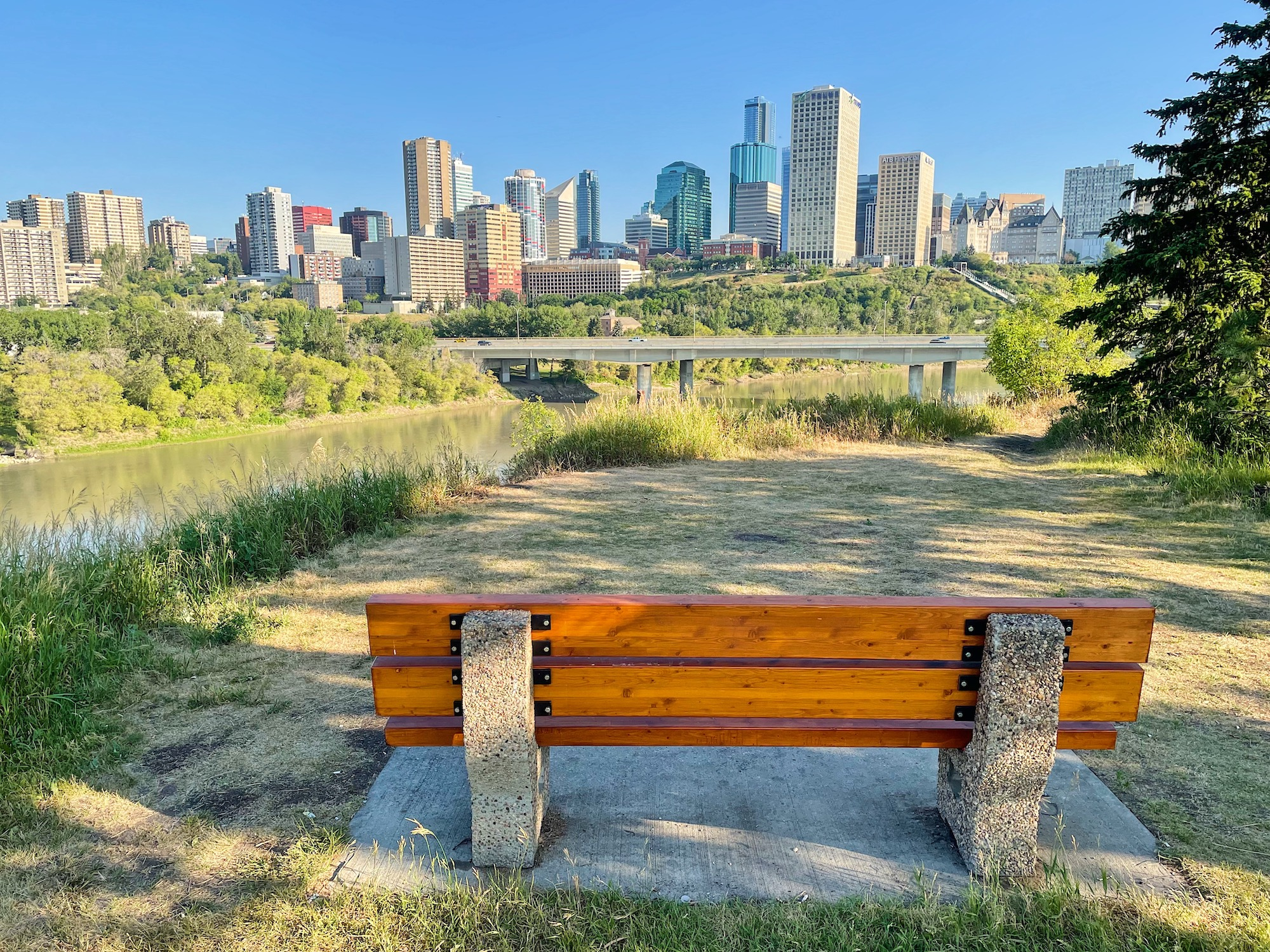 Biking in Edmonton: The Beautiful River Valley Trails via @outandacross