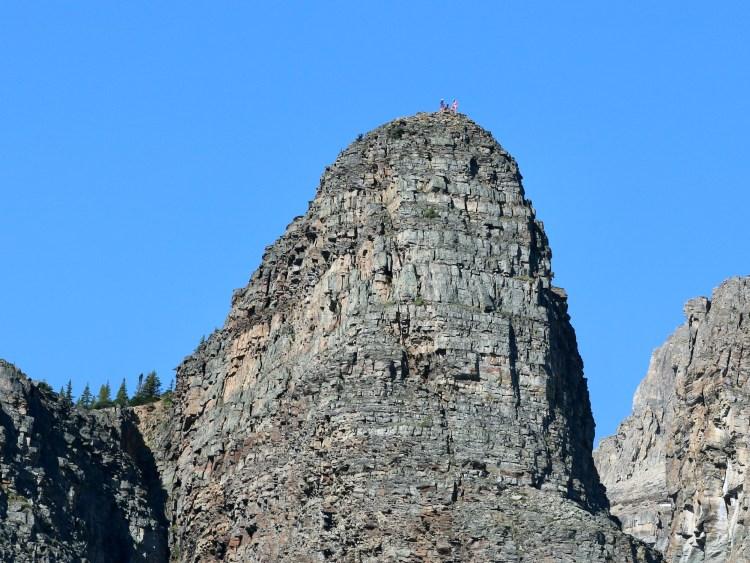 Devil's Thumb hike summit from below