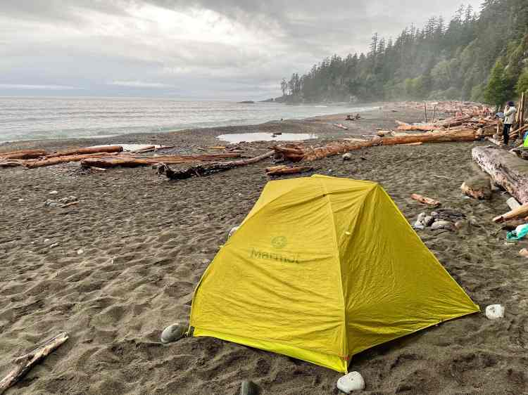 Camping on the West Coast Trail