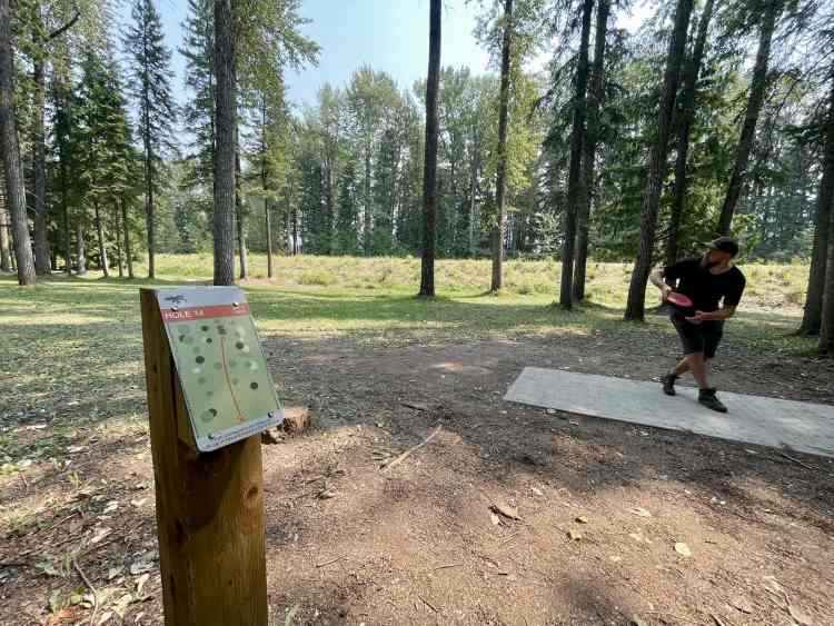 Disc golf is one of the most fun things to do in Fernie