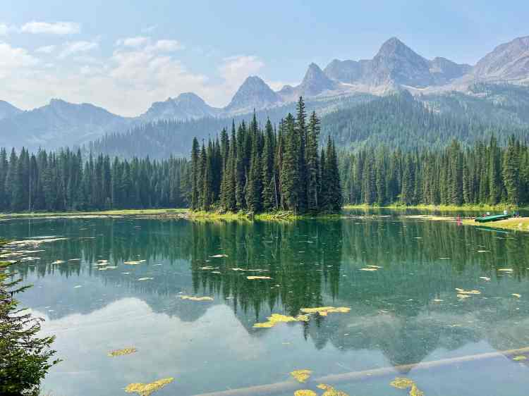 Island Lake Lodge is one of the best things to do in Fernie