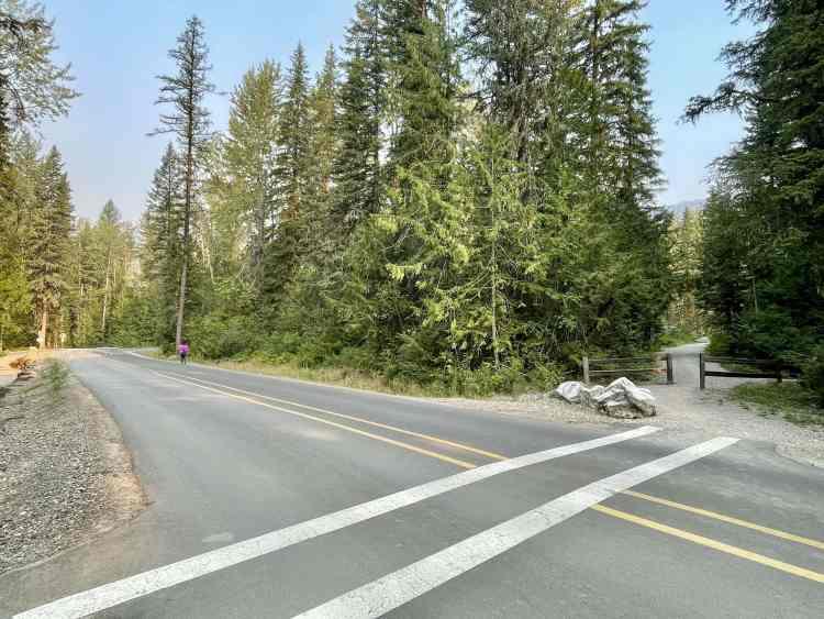 Mount Fernie Provincial Park main road