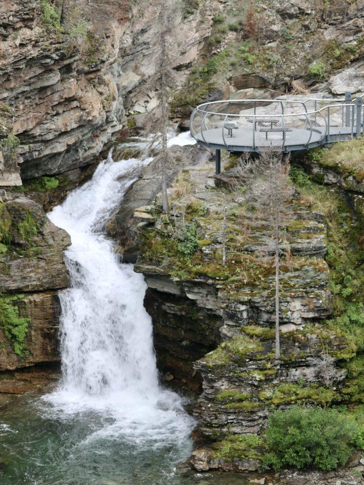 Blakiston Falls in Waterton Lakes National Park