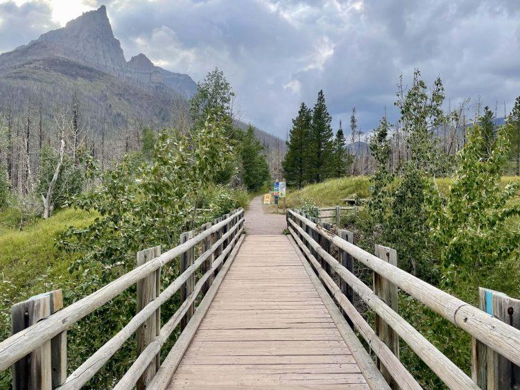 Goat Lake hike trailhead