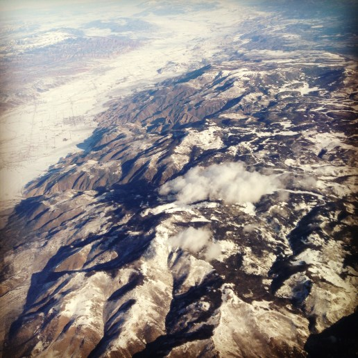 Flying over Colorado