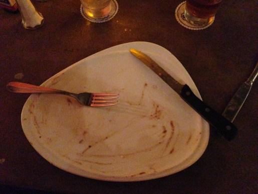 We definitely used our food and beverage credit!