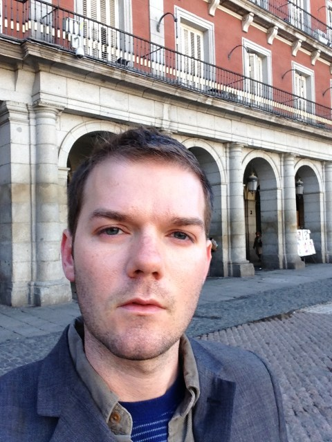 At Plaza Mayor in Madrid