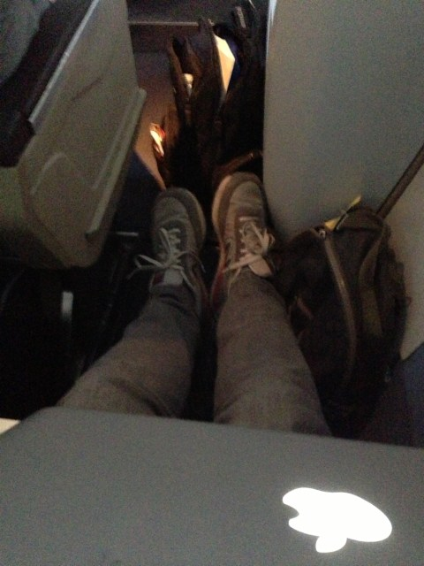 Ample legroom in Main Cabin ExtrAA