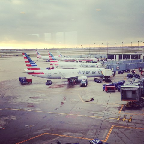 New AA planes at ORD