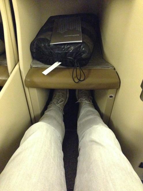 Lots of leg room!