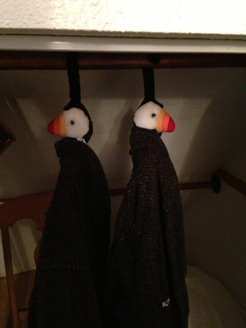Puffin robes :)